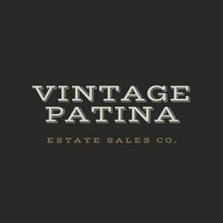 Vintage Patina Estate Sale Co. Logo