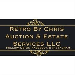 Retro By Chris Auction & Estate Services Logo