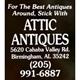 Attic Antiques Logo