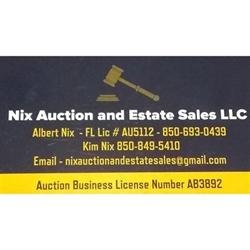 Nix Auction And Estate Sales LLC Logo