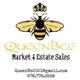 Queen Bee Estate Sales Logo