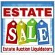 Estate Auction Liquidators Logo