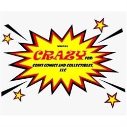Crazy For Coins Comics & Collectibles, LLC Logo