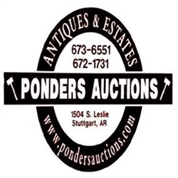 Ponders Auctions Logo