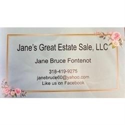 Jane's Great Estate Sale