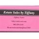 Estate Sales By Tiffany Logo