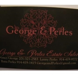George and Perles Estate Sales Logo