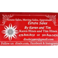 Estate Sales By Karen and Tim Logo