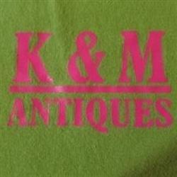 K & M Antiques Logo