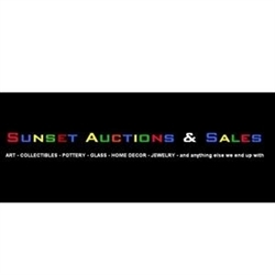 Sunset Auction Logo