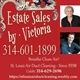 Estate Sales by Victoria Logo