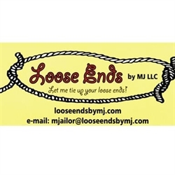 Loose Ends by MJ LLC Logo