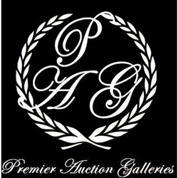 Premier Auction Galleries Logo