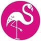 Pink Flamingo Estate Sales Logo