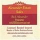 Alexander Estate Sales Logo