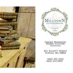 Milltown Enterprises- Antiques And Estates Logo