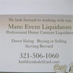 Mane Event Liquidations Logo