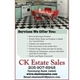 Ck Estate Sales Logo