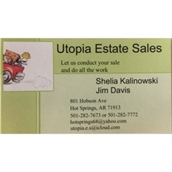 Utopia Estate Sales Logo