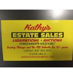 Kathy's Estate Sales, Liquidations, Auctions, and Consignments Logo