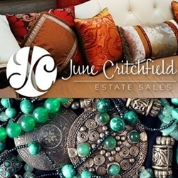 June Critchfield Estate Sales Logo