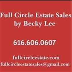 Full Circle Estate Sales by Becky Lee Logo