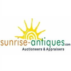 Sunrise Antiques & Auctioneers Logo