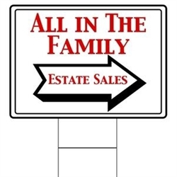 All In The Family Estate Sales LLC Logo