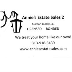 Annie's Estate Sales 2 Auction Block