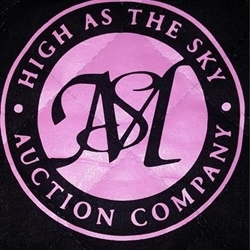 High As The Sky Auction Co. LLC Logo
