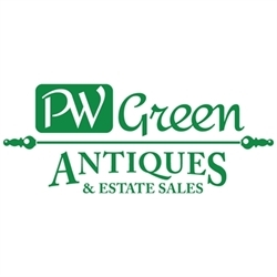 P W Green Antiques & Estate Sales Logo
