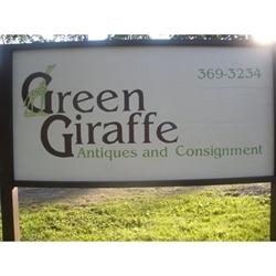 The Green Giraffe Logo