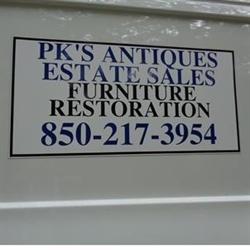 Pk's Antiques Logo