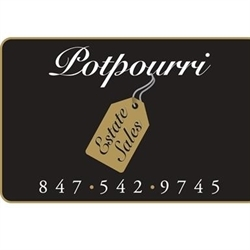 Potpourri Estate Sales Logo