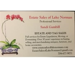 Estate Sales of Lake Norman Logo