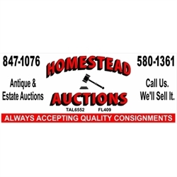Homestead Auctions & Estate Sales Logo