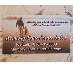 Memory Lane Estate Sales LLC Logo