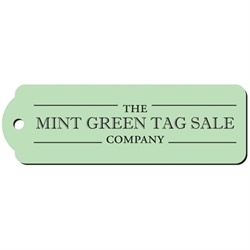 The Mint Green Tag Sale Company Logo