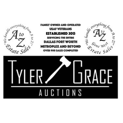 A - Z Estate Sales of North Texas & Tyler Grace Auctions Logo