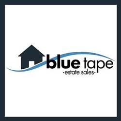 Blue Tape Estate Sales & Service Logo