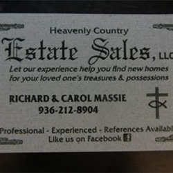 Heavenly Country Estate Sales Logo