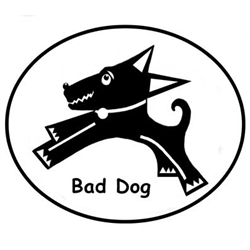 Bad Dog Estate & Moving Sales Logo