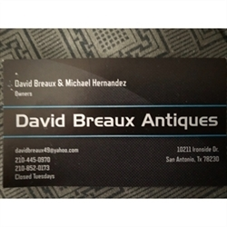 David Breaux Antiques & Estate Sales Logo