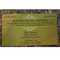 Allnick Estate Sales Logo