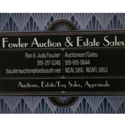 Fowler Auction & Estate Sales