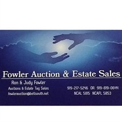 Fowler Auction & Estate Sales Logo