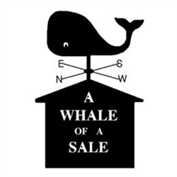 A Whale Of A Sale Logo