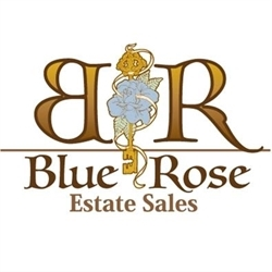 Blue Rose Estate Sales Logo