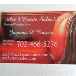 Act 3 Estate Sales, LLC Logo