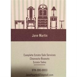 Jane Martin Estate Sales